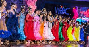 👆 На чемпионате мира по европейским танцам WDC дуэт Кати Демидовой и Арунаса Бижокасу установил новый рекорд