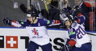 Британские хоккеисты обыграли французов и остались в высшем дивизионе ЧМ