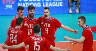 Сборная России по волейболу сыграет в финале Лиги наций